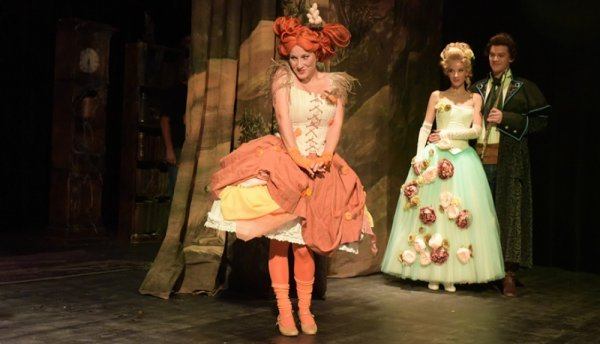 Papageno in the Enchanted Forest